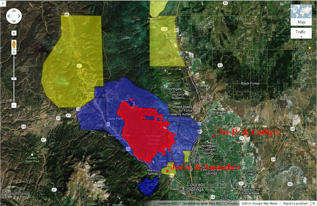 Waldo Canyon Fire Updated Information June 2012 From The Luciano